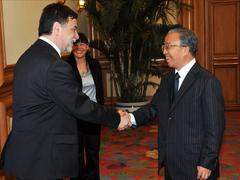 Miniszterelnöki látogatás