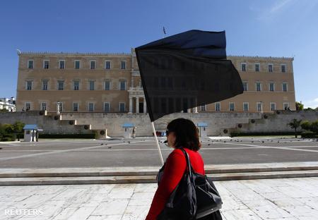 A görög parlament épülete Fotó: Yannis Behrakis